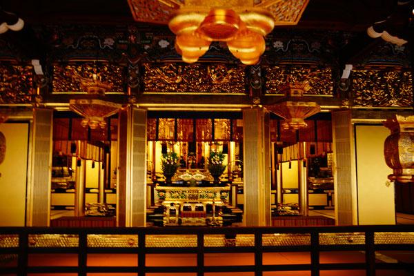 Altar Tempel von innen
