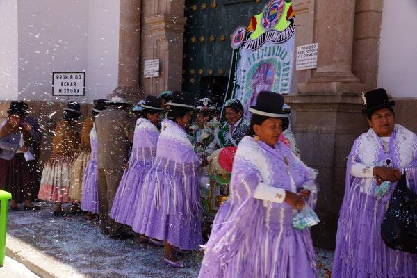 Hochzeit in Copacabana - Bolivien