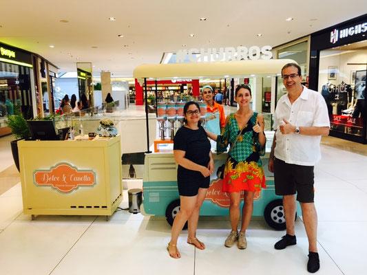 I Love Churros - mit Lily und Bruno am shoppen
