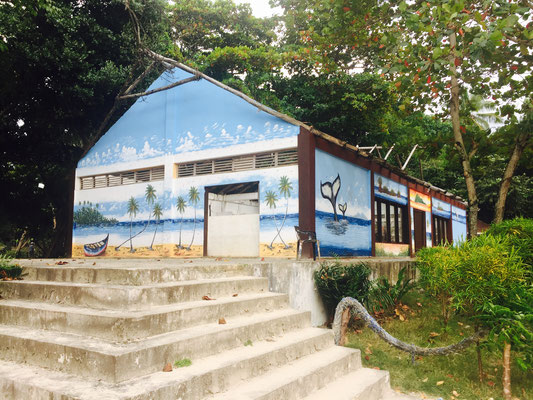 Cayo Levantado - Inselmalerei