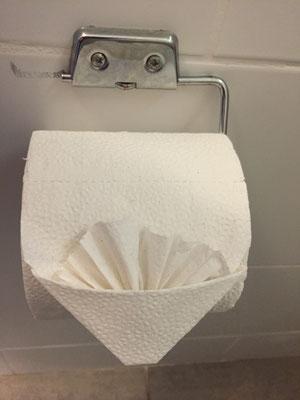 WC Papier mal anders präsentiert
