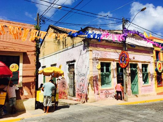 In Olinda am Tag vor dem Karneval