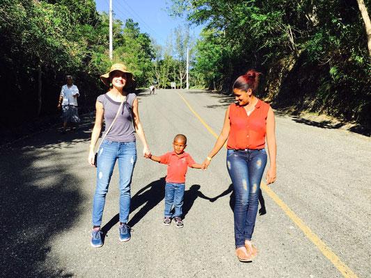 La Madrina, Gleide y la Mama
