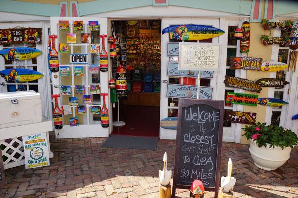Key West - der südlichste Souvenirladen von den Staaten
