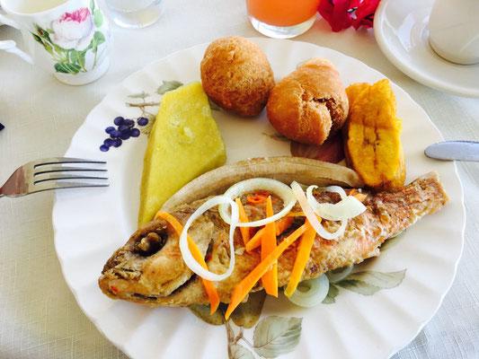 Typisch Jamaikanischer Food