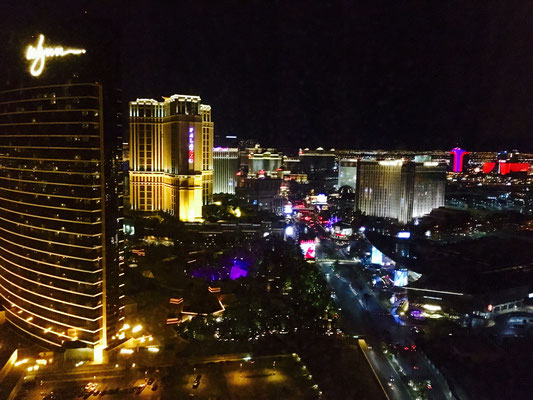 View from the 39th floor at Encore