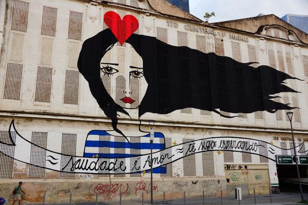 Graffiti in Rio