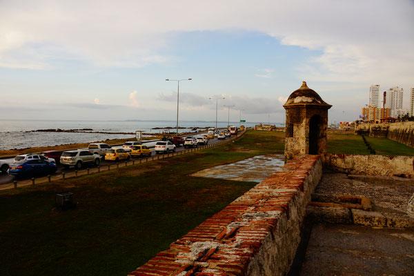 Castillo San Felipe in Cartagena