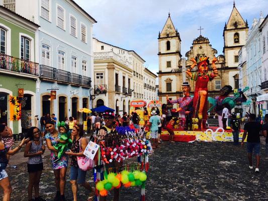 Pelhourino - historische Altstadt von Salvador do Bahia