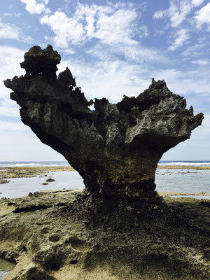 Heart Stone in Kouri Island