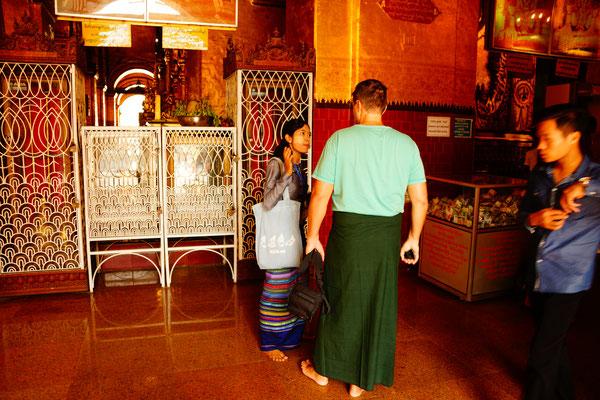 Neuer Look für die SoonOoPoneNyaShin Pagoda