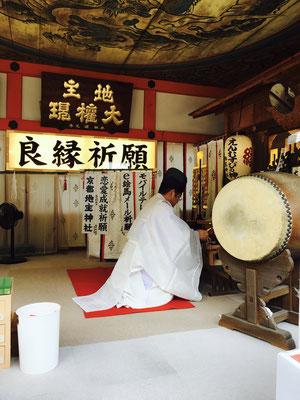 Tempelpriester Kyoto