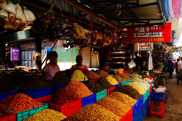 Markt in Pyin Oo Lwin