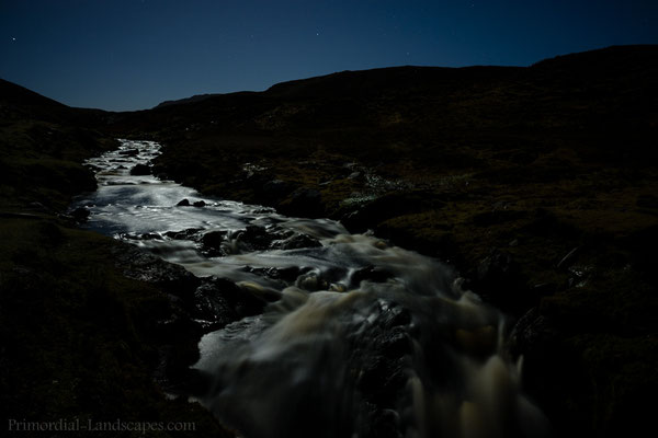 Moonlit brook
