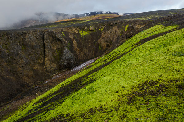 Colours are everything in the Vonarskarð.
