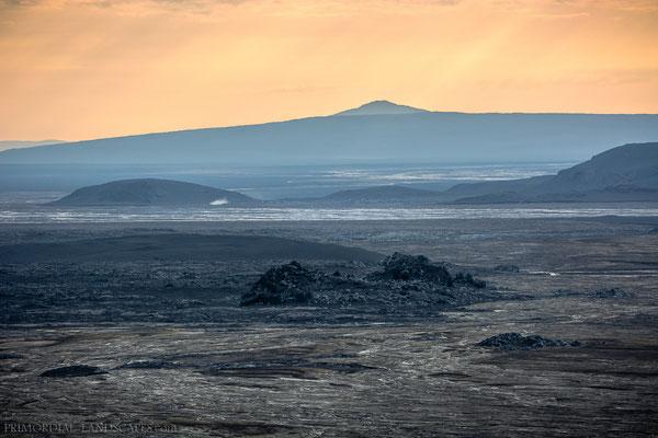 View through the tele lens: Vaðalda behind the alluvia plain.