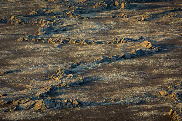 Lava patterns in the plain below Eggert