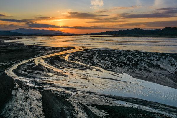 The origin of the Jökulsá á Fjöllum, Icelands mightiest river.