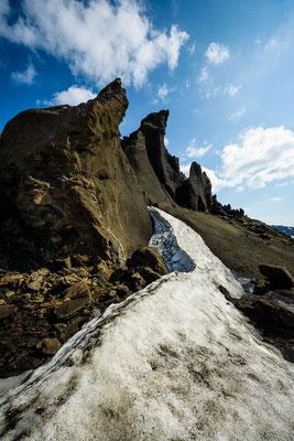 Tuff cliffs