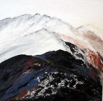 Gebirge  60x60x4