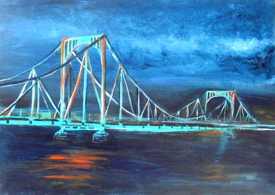 Glienicker Brücke  70x50x1cm