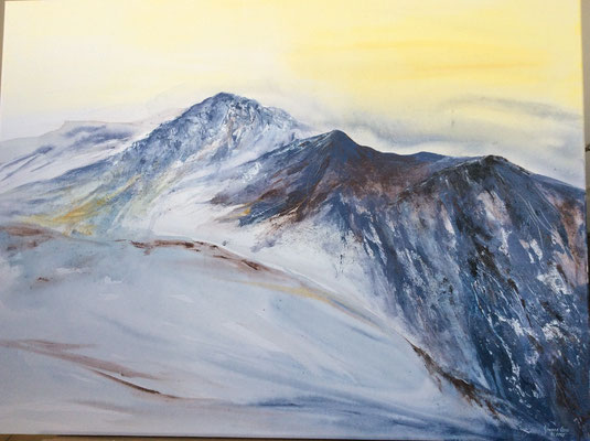 Gebirge II 80x60x4