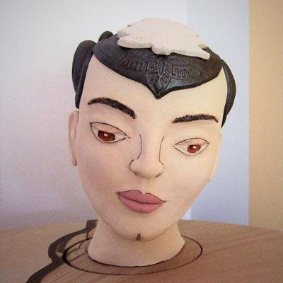 sanfte Kriegerin; lovely-cera ~ schöne Keramik-Kunst Nürnberg