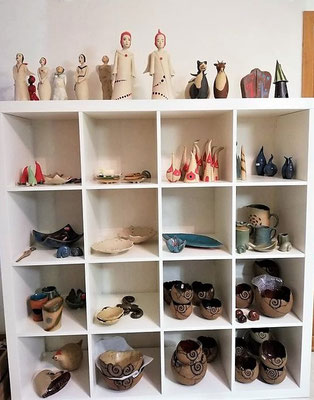 Atelier-Laden; Keramikatelier lovely-cera ~ schöne Keramikkunst Ludwigsstadt