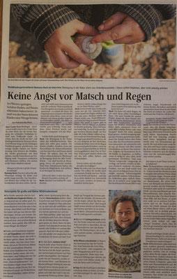 Interview in den Fränkischen Nachrichten Februar 2021