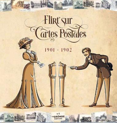 Flirt sur cartes postales