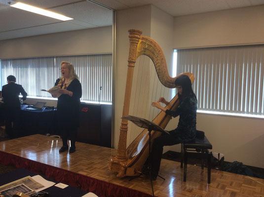 Musiker auf dem Symposium