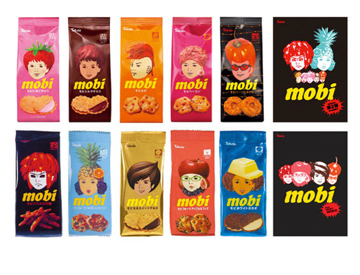 Tohato「mobi」/Ad, Package / Design, Character