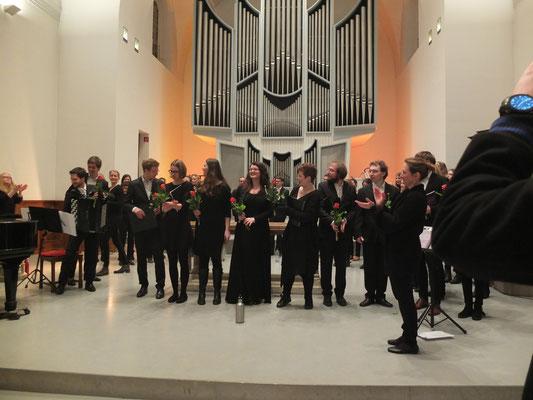 Konzert des ESG-Chors im Januar 2019