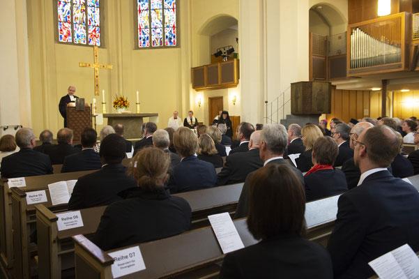 Gottesdienst in der Schlosskirche