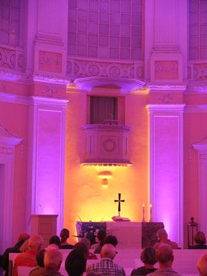 Die Kirchennacht 2018 in der Schlosskirche