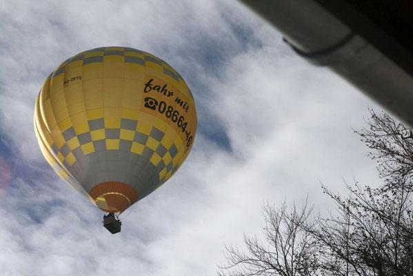Besuch vom Ballon