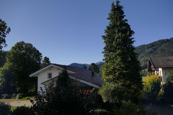 Blick auf die Ruhpoldinger Berge