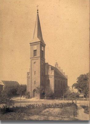 Pfarrkirche in Stettin Podejuch