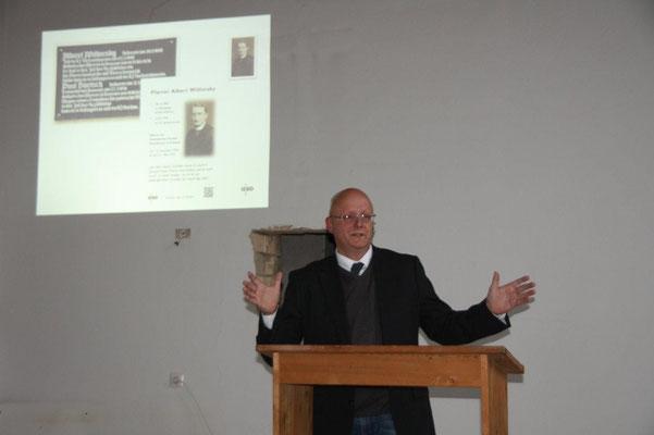 Matthias G. Rehder, Vorsitzender von deo iuvante Friesack e.V.