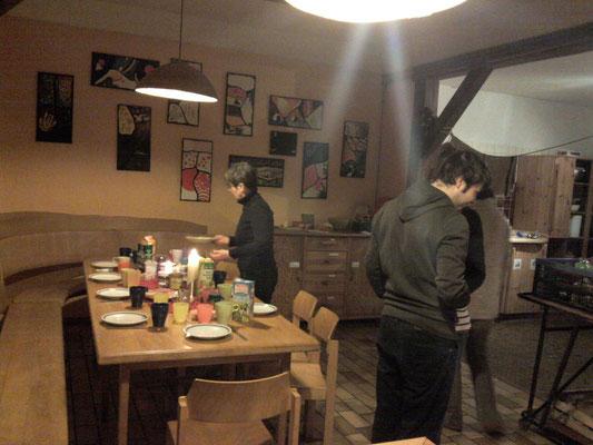 Noch mal in der Küche