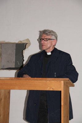 Grußwort des Pfarrers Lutz Neghk, Gedenkstättenbeauftragter des Erzbistums Berlin