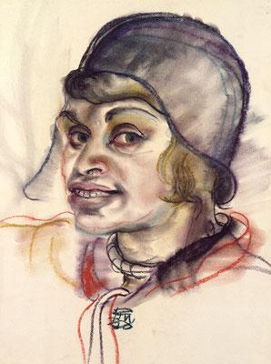 Selbstportrait mit Hut (1930)