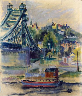 Die Loschwitzer Brücke (1931)