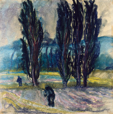 Pappeln im Feld (1929)