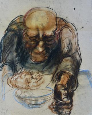 Suppe löffender Mann (1930)