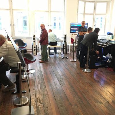 Interaktiver Workshop im Business Loft Leipzig. WERSI Leipzig - Stefan Baumgarth, 19.10.2018. Foto: Stefan Baumgarth.