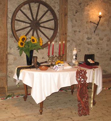 Mittelalter-Hochzeit im Schloss...