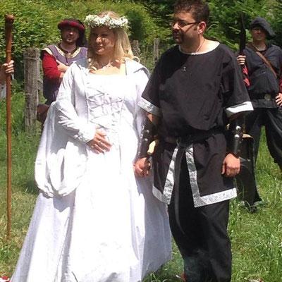 Heirat auf Mittelalterlich...