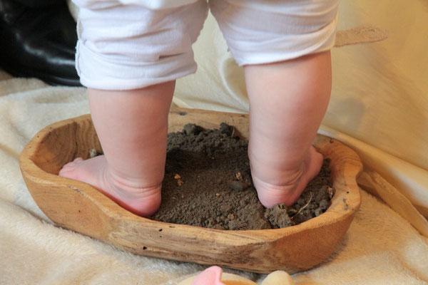 Das Element Erde sorgt für den Boden unter den Füssen...