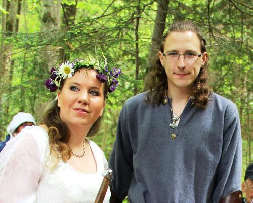 Herzlichen Glückwunsch Andrea und Stefan!